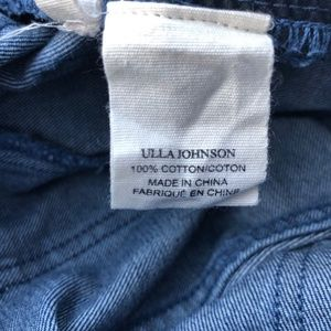 Ulla Johnson Jeans - Ulla Johnson Alex Lace Up Crop Jeans Size 2